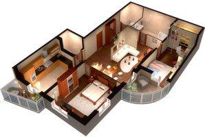 Переезд трехкомнатной квартиры