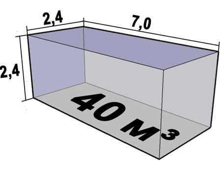 Размеры кузова 10 тоника 40 кубов