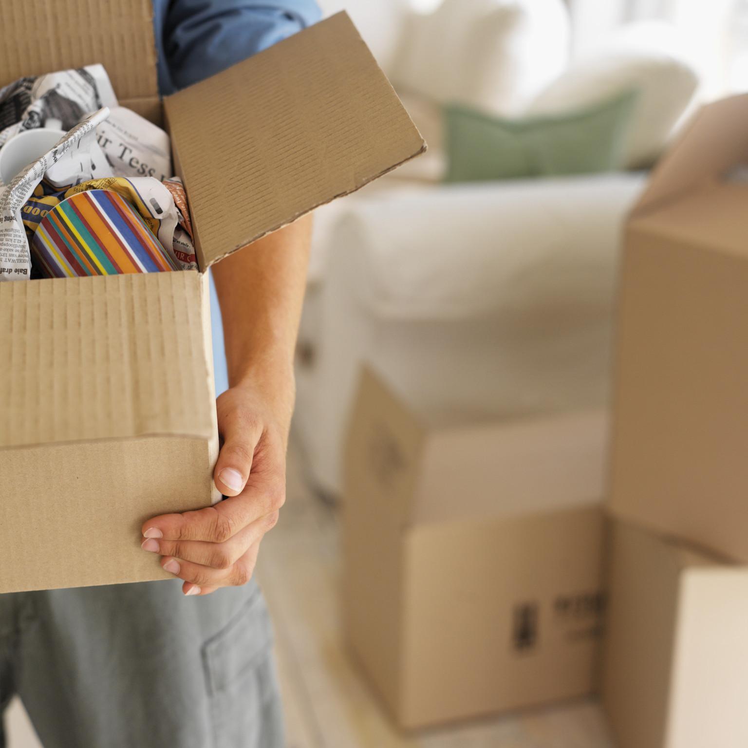 Предусмотрена ли у вас упаковка вещей перед переездом?