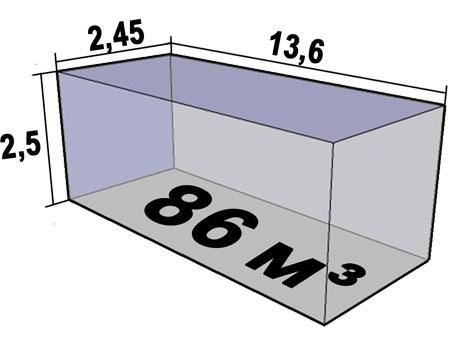 Размеры кузова фуры грузоподъемностью 20 тонн