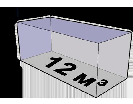 Размер кузова стандартной газели 12 кубов
