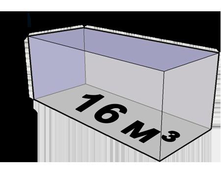 Размеры будки кузова газели 16 кубов