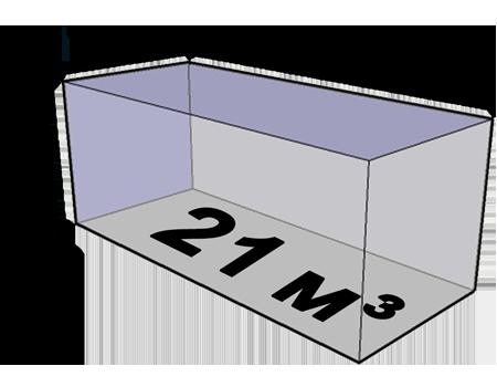 Размеры кузова газели фермер 21 куб
