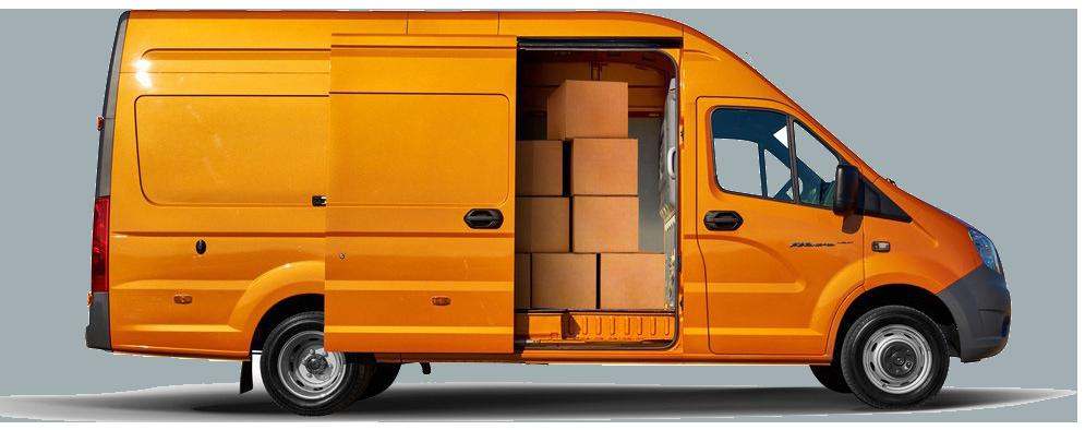 Грузовой транспорт для переезда комнаты